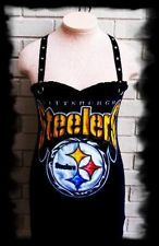 diy Pittsburgh STEELERS halter top NFL Football shirt Womens Sexy
