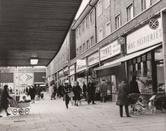 Billingham Macfisheries - The Greggs of 1967. Now a Pound Shop ... probably. Me out of picture by about 4 years