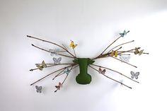 Deko-Objekte - elchling® L Wandkissen - apfelgrün (Elch) - ein Designerstück von 2Designer bei DaWanda