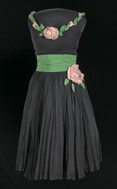 Dress by Ann Lowe, creator of Jackie's wedding dress.