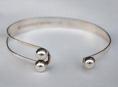 Silver bracelet by Erik Granit [Finland, 1973]
