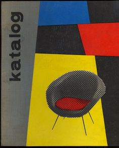 Czech furniture catalog, 1961