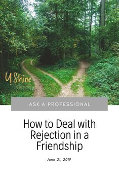 Friendships are difficult, and rejection in friendships is one of the most difficult things to go through. Here are some thoughts on how to cope with rejection in a friendship. Interpersonal Relationship, Friendship, Relationships, To Go, Country Roads, Thoughts, Relationship, Dating, Tanks