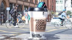 Manchester launches paper coffee cup recycling campaign
