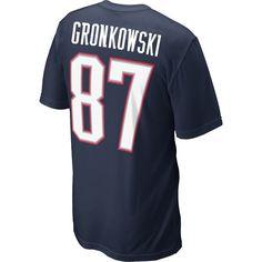 Nike Rob Gronkowski Name & Number Tee