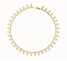 Le collier Ramsès de Marie-Hélène de Taillac http://www.vogue.fr/joaillerie/le-bijou-du-jour/diaporama/le-collier-ramses-de-marie-helene-de-taillac/15998
