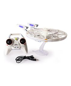 Another great find on #zulily! Star Trek Enterprise Remote Control Drone…