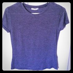 Zara brand new tshirt blue! Without tags. Blue tshirt! Zara offers welcomed! Zara Tops