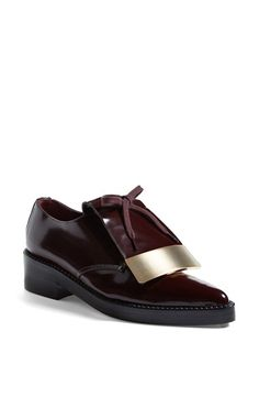 Marni Metal Plate Oxford (Women) available at #Nordstrom