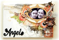 Altered+Angel+Canvas - Scrapbook.com