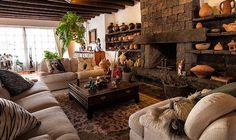 cesar manrique house haria Meet Santa, Santa Fe, Canary Islands, Home And Living, Cribs, Indoor Outdoor, Sofas, Beach House, Couch