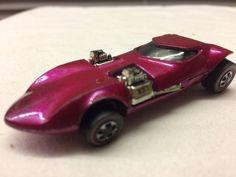 VTG ORIG 1968 Hot Wheels Redline Pink Twinmill  Very Good #HotWheels #Custom