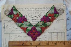 Vintage European Flower Blossom by VintageFrenchRibbons on Etsy