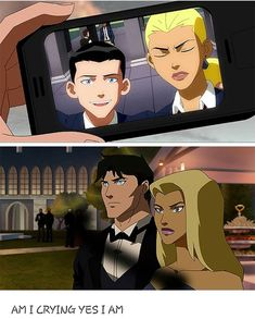 Dick and Artemis all grown up. Young Justice League, Young Justice Season 1, Superboy Young Justice, Young Justice Funny, Artemis Young Justice, Young Justice Comic, Artemis Crock, Arte Dc Comics, Marvel Comics