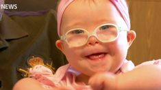 A baby from York has become the star of a campaign to change misconceptions around Down's Syndrome. Mia Hamilton features in a new book entitled 'Wouldn't change a thing', created for hospitals to help support new parents. Sarah Clark has the story. Down Syndrome Baby, Down Syndrome People, Hospitals, New Parents, New Books, Hamilton, Activities For Kids, Campaign, Change