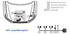 Audi 2.0 TDI 143 CV: schema di installazione centralina aggiuntiva DTE Made in Germany - INFO: autogold@autogold.it