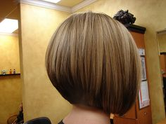 Stacked Inverted Bob | Volumized Inverted Bob 1