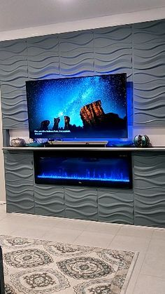 Living Room Decor Fireplace, Fireplace Tv Wall, Basement Fireplace, Fireplace Design, Door Design Interior, Room Interior, Moving Places, Built In Electric Fireplace, Beautiful Nature Scenes