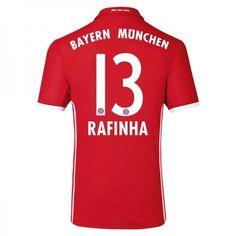 Bayern München 16-17 #Rafinha 13 Hemmatröja Kortärmad,259,28KR,shirtshopservice@gmail.com