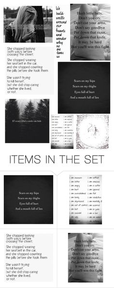 """Rtd...."" by xsuicidal-annax ❤ liked on Polyvore featuring art"