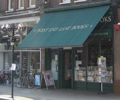 A delightful independent bookshop - 10 things to love about West Hampstead #London #whamp