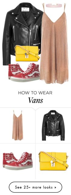 """Winter Dresses Under $100"" by acacia97 on Polyvore featuring Acne Studios, Sans Souci, Vans, Dolce&Gabbana and Humble Chic"