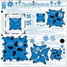 Playful Pinwheels Template by Hot Off The Press Inc Quilling Supplies, 3d Quilling, Digital Stamps, Christmas Gift Card Holders, Christmas Gifts, Holiday, Princess Wands, Fairy Wands, Tutorials