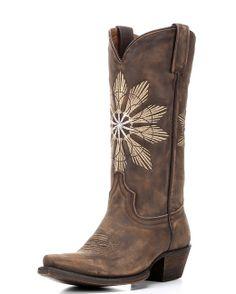 8 Second Angel | Cheyenne Boot | Saddle Brown