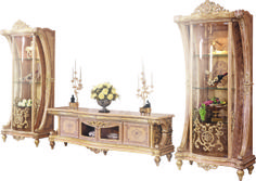 Luxury French Rococo Style Living Room TV Stand/European Antique Solid Wood Hand Carved TV Cabinet With Display Cabinet Furniture Sofa Set, Luxury Home Furniture, Living Room Furniture, Furniture Design, Buy Coffee Table, Solid Wood Coffee Table, Master Bedroom Interior, Living Room Tv, Luxurious Bedrooms