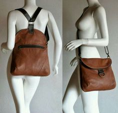 This company makes bags/purses out of old leather jackets/coats – up-cycling at it's best! Love this one especially This company makes bags/purses out of old leather jackets/coats – up-cycling at it's best! Messenger Backpack, Leather Backpack, Leather Satchel, Backpack Bags, Tote Bag, Diy Sac Pochette, Sacs Design, Mk Bags, Leather Projects