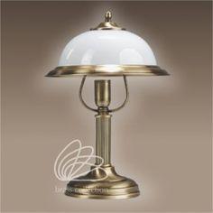 Lampa mosiężna Lilia. Więcej lamp mosiężnych znajdziecie na http://dragonfly24.com.pl/5-lampy-mosiezne