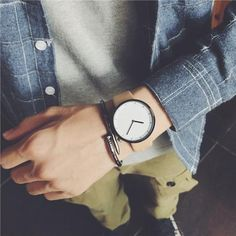Minimalist stylish men quartz watches drop shipping 2018 new fashion simple black clock BGG brand male wristwatches gifts Stylish Watches, Casual Watches, Luxury Watches, Simple Watches, Mens Watches Leather, Leather Men, Black Clocks, Vintage Watches For Men, Vintage Men