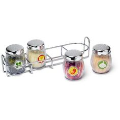 melissa u0026 doug pizza seasoning set 5pc play food stainless steel caddy
