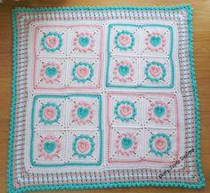 CROCHET PATTERN Halo Heart Crochet Blanket door KerryJayneDesigns