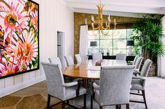 Santa Barbara Estate Dining Room by #TomStringerDesignPartners #TSDP