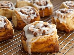 Quick Cinnamon Buns with Buttermilk Glaze - Once Upon a Chef