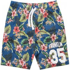 Men's classic fit Bermuda shorts made of jersey and mesh