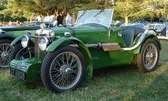 1931–32 MG C-type Midget Vintage Cars, Antique Cars, Tata Motors, Mg Cars, British Sports Cars, Classic Mercedes, Motor Car, Motor Sport, Fast Cars