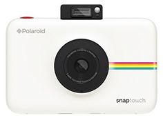 Amazon.com : Polaroid Snap Touch Instant Print Digital Camera With LCD Display (White) with Zink Zero Ink Printing Technology : Camera & Photo