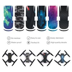 Now available on our store: Waterproof Scratc... Check it out here! http://shotisfy.com/products/waterproof-scratch-proof-carbon-fiber-skin-wrap-stickers-decal-for-dji-spark?utm_campaign=social_autopilot&utm_source=pin&utm_medium=pin