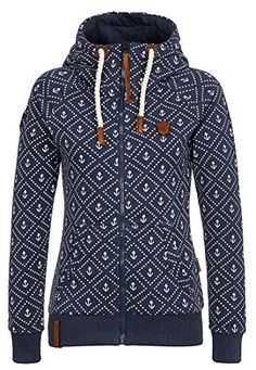 Naketano Female Zipped Jacket Jennifer Hart Indigo Blue