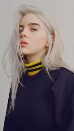 Billie Eilish Queen ( - Best of Wallpapers for Andriod and ios Aesthetic Images, Aesthetic Girl, Kristen Stewart, Pretty People, Beautiful People, Beautiful Pictures, Collage Des Photos, Videos Instagram, Actrices Sexy