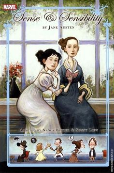 Jane Austen's Sense and Sensibility in a comic, awesome!