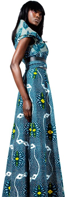 #African wax print dress from Uganda- but as just a skirt!! gorgeous!  African Fashion #2dayslook #AfricanFashion #nice  www.2dayslook.com