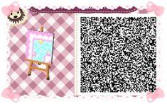 Animal Crossing: New Leaf & HHD QR Code Paths #6 Star crossed Pastel waterway