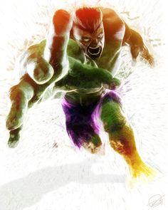 Hulk by Daniel Scott Gabriel Murray