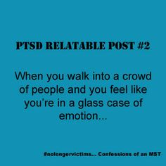 PTSD relatable post