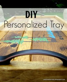 Painted Therapy: DIY Personalized Tray