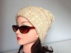 Gorro lana mujer winter hat wool slouch hat hand por AllSeasonsNL