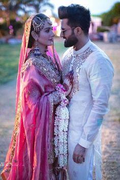 Wedding Couple Poses Photography, Indian Wedding Photography, Wedding Poses, Wedding Couples, Wedding Bride, Romantic Couples, Farm Wedding, Boho Wedding, Wedding Reception